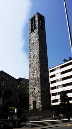 San Nicolao Church, Besso, Lugano, Switzerland