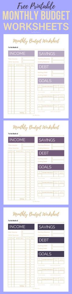 11 Awesome  Free Budget Planners to Help You Budget Better Free