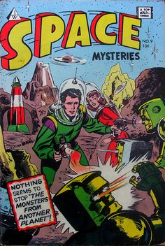 Space Mysteries - I.W. Comics - No 9 - 1964.