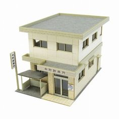 Diorama-series-clinic-Classics-1-150-paper-craft-plamo-Japan-Toy-Model