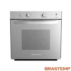 Imagem para Forno a Gás de Embutir Brastemp Clean com Capacidade de 77 Litros Inox - BOA61AR a partir de Fast Shop