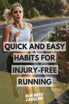 3 quick and easy habits for injury free running Running A Mile, Marathon Running, How To Start Running, Running Workouts, Running Tips, Road Running, Your Best Life Now, Knee Pain Relief, Get Shredded