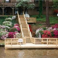 What is involved in building a dock at my lakeside Central GA home?