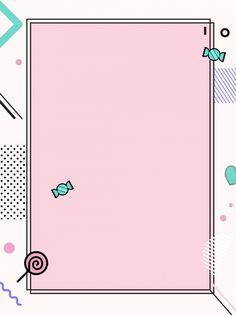 Girl Background, Cartoon Background, Geometric Background, Background Images, Candy Background, Cute Backgrounds, Cute Wallpapers, Wallpaper Backgrounds, Wallpaper Powerpoint