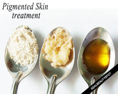 Homemade Oatmeal and Potato mask for Pigmented Skin