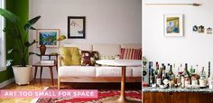 Hanging 101: Find art that fits your space! Thanks @em_henderson!