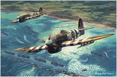 Return of the Hunters, by Anthony Saunders (Hawker Typhoon Mk Ib)