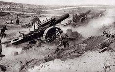 Larger Artillery was another advance in warfare during WWI. Larger artillery was increased to 75-millimeter which increased a great deal of military power to the French.