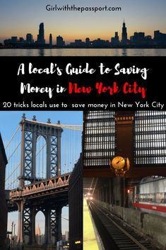 Are you one of the cheapskate's of New York City or using a budget backpacker's guide to New York City? Then read these money saving tips in New York City.