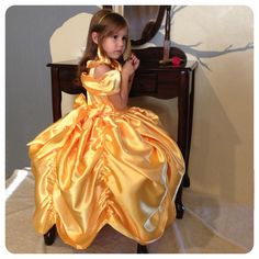"""Belle """"Inspired"""" Princess Gown  PDF sewing pattern by Christen Noelle"""