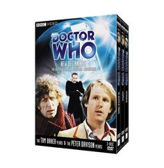 Doctor Who: New Beginnings Collection These three stories saw the return of the Doctor's arch-enemy, The Master, as well as the transition from Tom Baker's Doctor to Peter Davison's.