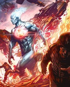 Captain Atom issue #3 New 52 by @artgerm | #igers #instahub #instagood #instagramhub #iphonesia #instagrammers #amazing #beautiful #photo #entertainment #picture #photooftheday #pictureoftheday #warnerbrothers #batman #dccinematicuniverse #anime #cartoon #superman #justiceleague #dccomics #games #fiction #book #comics #dc #dcuniverse #dcgramm #captainatom