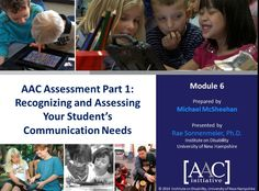 Video of the Week: Assessing Communication Needs in AAC Learners