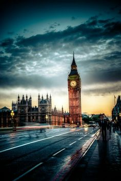 Londres relógio big bang