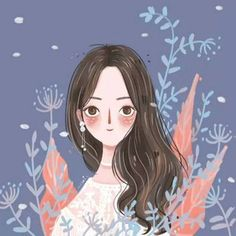 Texture Illustration, Digital Illustration, Graphic Illustration, Illustrations, Anime Art Girl, Aesthetic Art, Cartoon Art, Cute Drawings, Cute Wallpapers