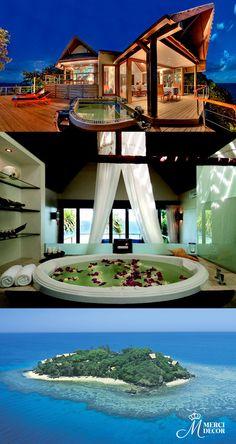 Royal Davui Island Resort, Fiji. Hotel exclusivo para adultos, garantindo total tranquilidade. Localizado no arquipélago de Fiji,reconhecido como um dos 10 melhores hotéis para romance no mundo por Trip Advisor. Diárias a partir de R$ 1.800,00. http://www.royaldavui.com/