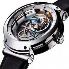 BLU Majesty Tourbillon MT3 Mechanical Skeleton Watch For Men