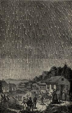 Adolph Vollmy, Leonid meteor shower 1889