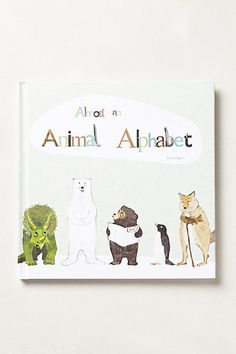 Almost An Animal Alphabet by anthropologie