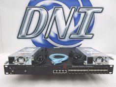 Brocade FCX Series FCX624S-F 24 Port +4 1G SFP Layer 3 Switch #Brocade
