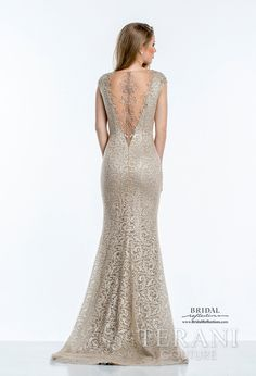 Terani Couture Wedding Evening Dress and Gowns Collection | Bridal Reflections