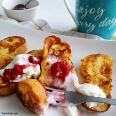 French toasts #zapachapetytu #frenchtoast #breakfast French Toast, Breakfast, Food, Morning Coffee, Essen, Meals, Yemek, Eten