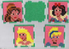 Pot de crayons en perles Hama - Princesses Disney
