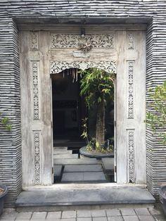 This Carved Teak Door makes a beautiful entrance. Java Door / Indonesian / Bali Style .