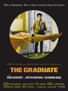 The Graduate movie poster...still haven't seen the last 30 seconds.