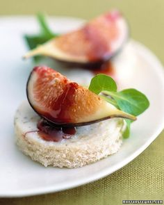 Gorgonzola Dolce with Figs and Port - Martha Stewart Recipes