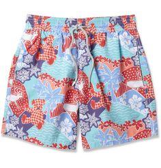 VilebrequinMoorea Mid-Length Printed Swim Shorts