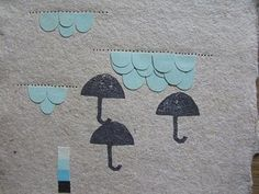 lovely use of stitching and stamps