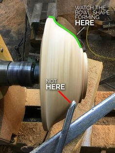Improve Bowl Woodturning Look at Top Bowl Form