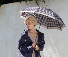 【楽天市場】【2016秋冬 Fall&Winter 女性用傘/雨傘】ウィンドウペンチェック 女性用傘(手開き):傘のお店 あめふり屋本舗
