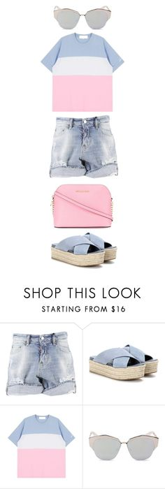 Untitled #504 by labriana29 on Polyvore featuring Dsquared2, Miu Miu, MICHAEL Michael Kors and Christian Dior