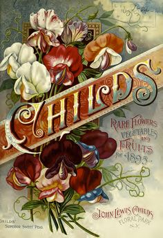 Front cover seed catalog of John Lewis Childs (1895) | Flickr - Photo Sharing!