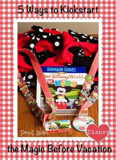 5 Ways to Kickstart the Disney Magic Before Your Vacation: Clever ideas for themed gifts for your kids during the holidays before a big vacation. Perfect sized items for everything from a Tooth Fairy visit to gifts from Santa.