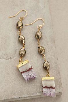 Amethyst Crush Earrings