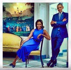 The Obamas!!!