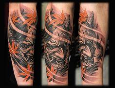 tatuagem de hannya