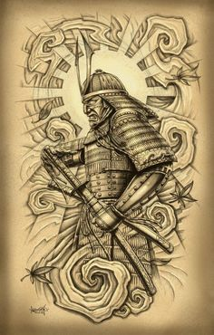 traditional samurai tattoo - Google Search