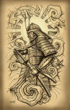 traditional samurai
