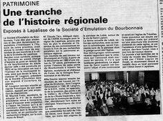 Michel Colombe..jean Bourdichon -conférnce de Claude TAIN 1985-Lapalisse (Allier)-Société d'Emulation du Bourbonnais***