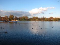 Serpentine Lake – Hyde Park, London
