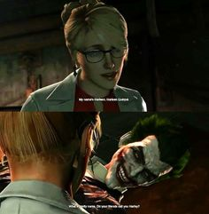 Do your friends call you Harley? I noticed this yesterday in Batman Arkham Origins!