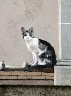 Bourbon Lancy - France. street art