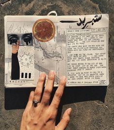 a poem for karachi, once again. // art journal, poem, poetry, wordporn, words, inspiration, aesthetics, notebook, scrapbook, collage, artwork //