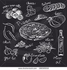 stock-vector-hand-drawn-vector-illustration-pizza-set-vintage-sketch-chalkboard-196595018.jpg 450×470 pixels