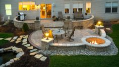 Miraculous backyard patio ideas with fire pit Find inspirations to plan and beautify your backyard design. These backyard patio ideas will help you to make your backyard pretty and comfort. Check now!