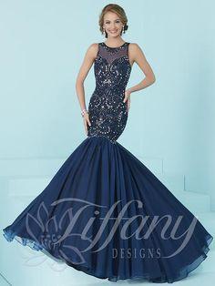 d192a48eea5e Tiffany+16205+-+16205 Tiffany Dresses, 2017 Evening Gowns, Mermaid Skirt